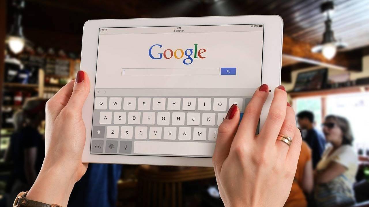recherche google : référencement seo sea