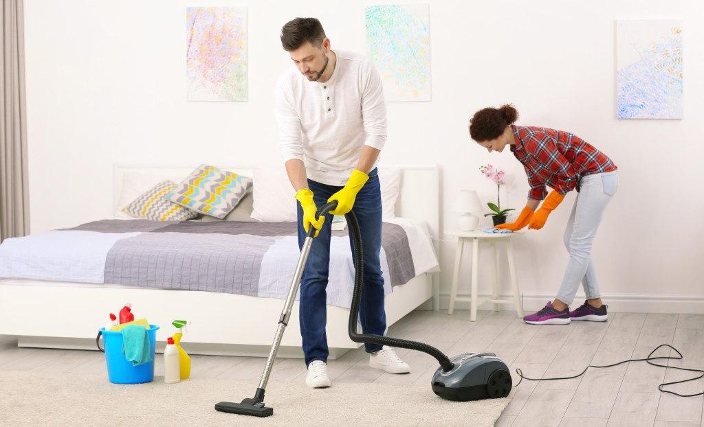 répartition des tâches de ménage dans un couple