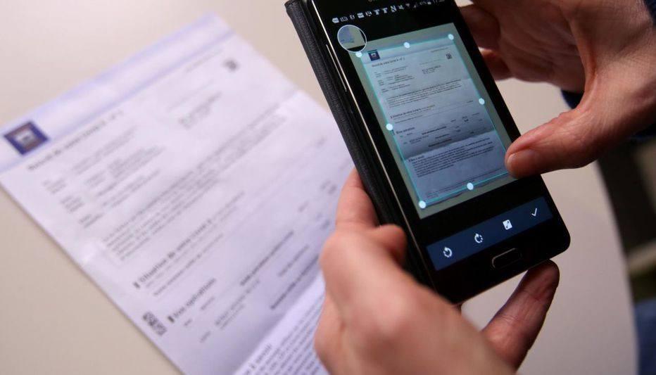 scanner un document depuis son smartphone
