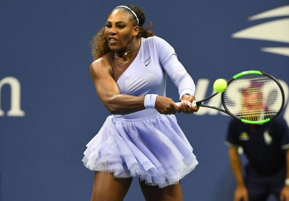 Serena Williams : une femme ronde sportive