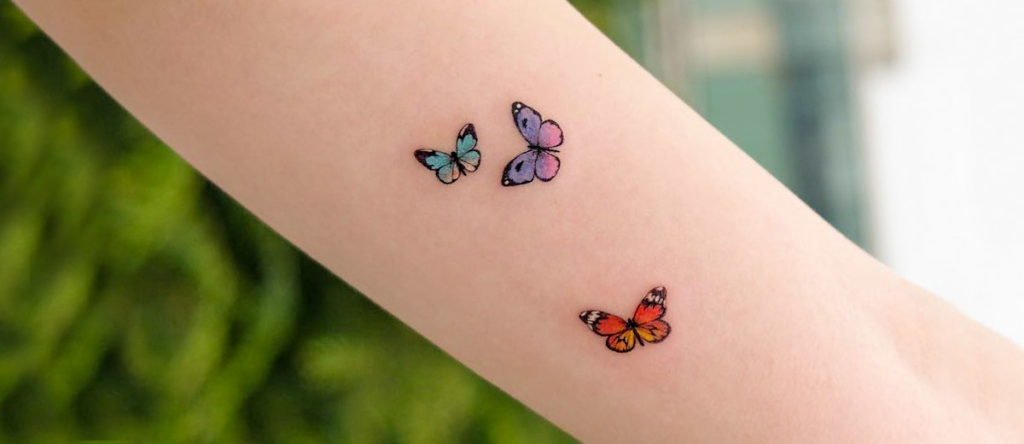 tattoo papillon