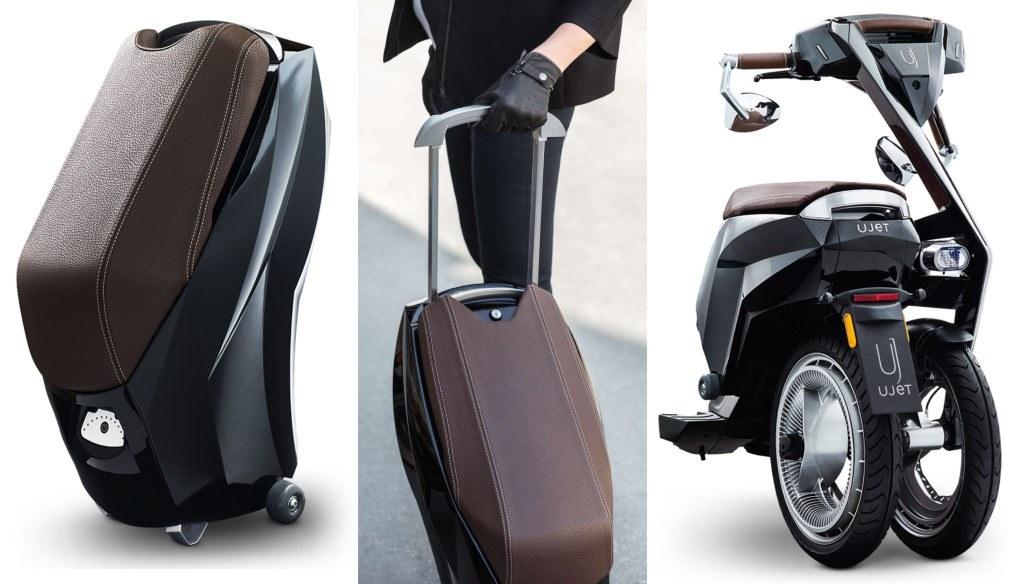 ujet : scooter électrique avec batterie amovible