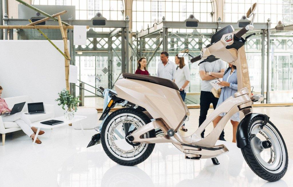Ujet : scooter électrique haut de gamme