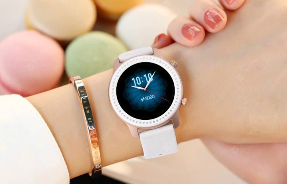 AMAZFIT GTR 42mn Zirconia Swarovski : montre connectée bijou pour femme - 02