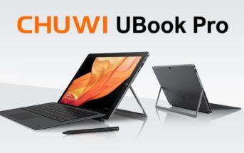 CHUWI Ubook Pro : une nouvelle tablette PC 2 en 1 prometteuse !
