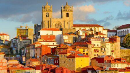 Porto : Quartier de la Ribeira et cathédrale