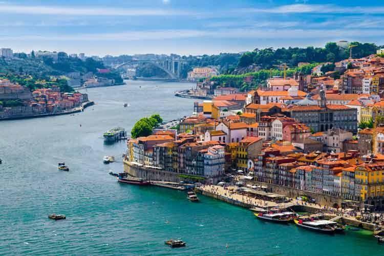 Porto : fleuve Douro