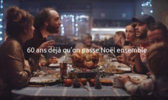 Pub de Noël Carrefour 2019 60 ans