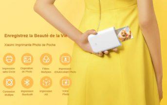 🔥 Promo : l'imprimante photo de poche Xiaomi à 58€ !