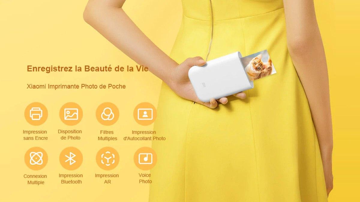 Xiaomi Imprimante de Photo de Poche