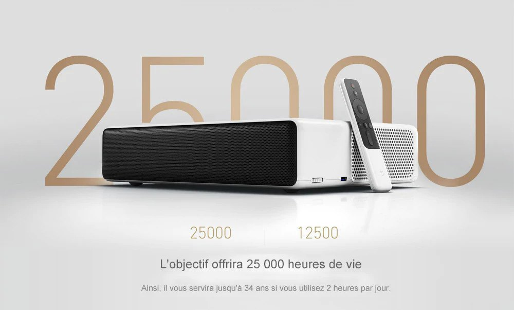 Xiaomi Mijia Laser Projecteur TV 4K