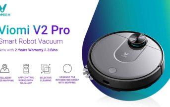 🔥 Code promo soldes : le robot aspirateur Viomi V2 Pro à 334€