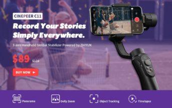 🔥 Promo : un stabilisateur smartphone Zhiyun à 80€ !