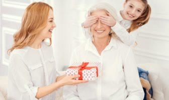 cadeau pour une grand-mère - mamie