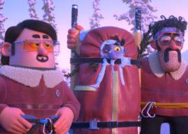 Hors Piste : court-métrage d'animation sur 2 sauveteurs de montagne maladroits