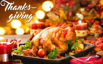 Thanksgiving : une bonne occasion de tester son repas de Noël