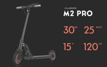 🔥 Code promo : la trottinette électrique KUGOO M2 Pro à 399€