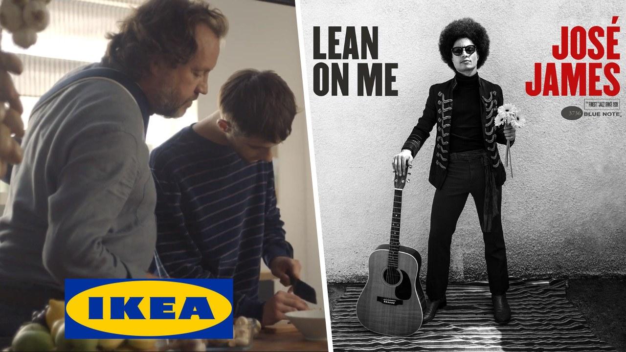 """""""Lean On Me"""" de José James : musique de la pub Ikea """"Cuisiner nous rapproche"""""""