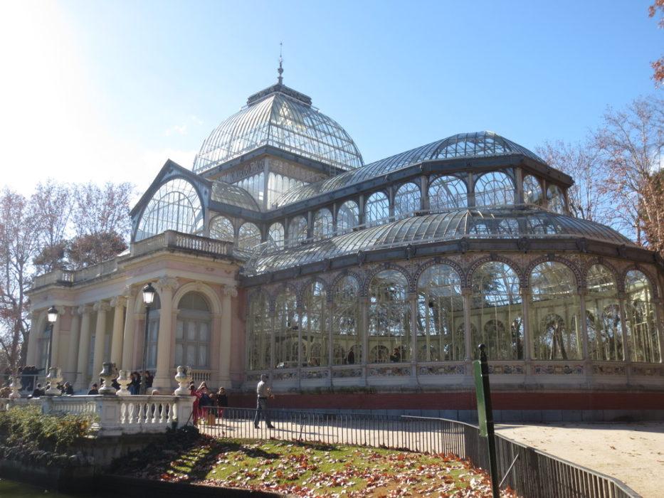 Palais de Cristal au Parc du Retiro