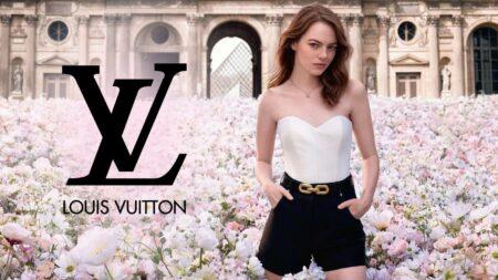 pub du parfum Cœur Battant de Louis Vuitton avec Emma Stone
