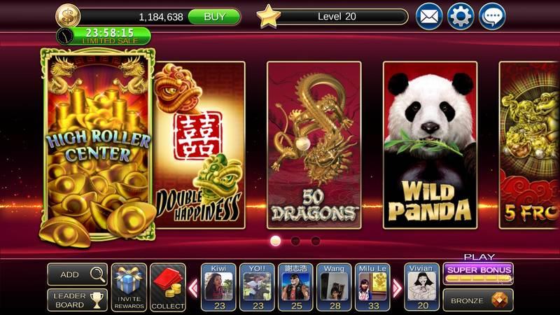 slots machines Asie