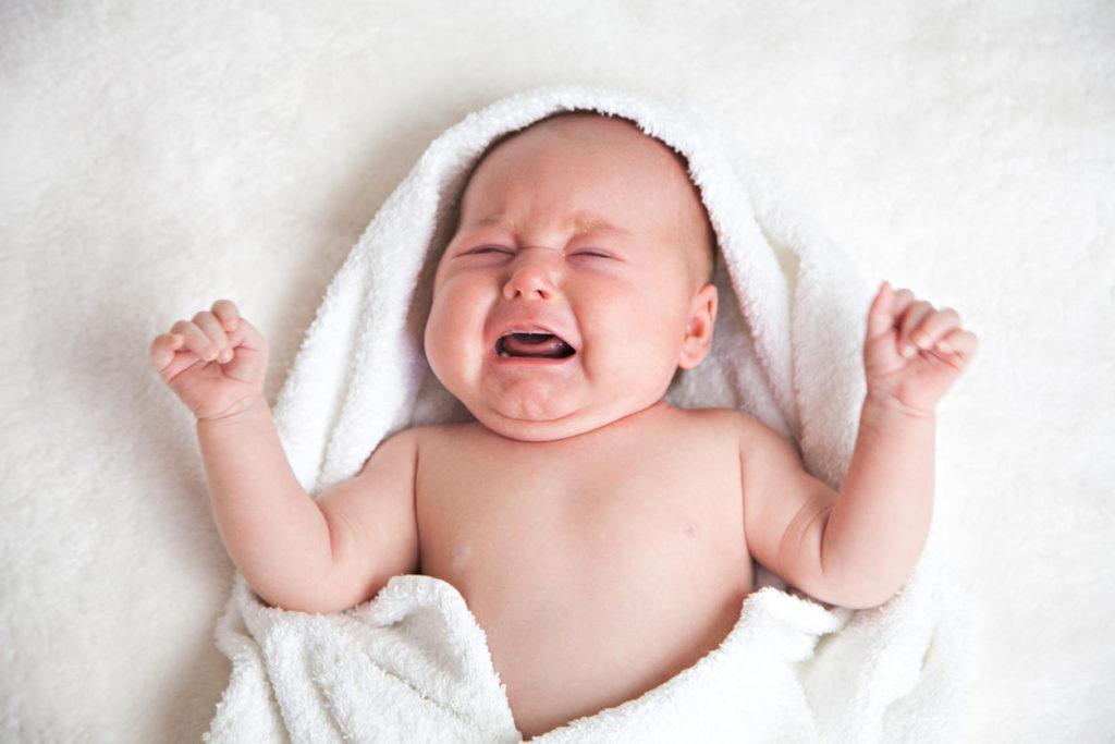 Diarrhée chez bébé