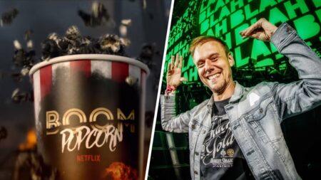 Musique de la pub Boom popcorn du film Netflix 6 Underground