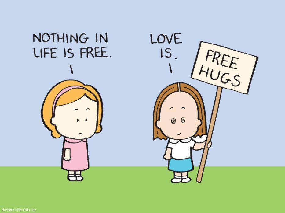Câlin gratuit