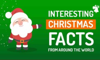 Infographie des faits intéressants sur Noël - cover
