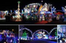 """Les plus belles maisons """"illuminées"""" du Nord pour Noël 2018 - Source francetvinfo.fr"""