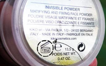 Cosmétiques : savez-vous ce que signifie l'inscription 18M sur les flacons ?