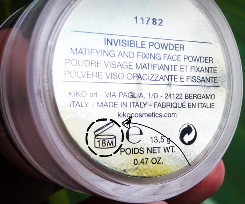 Savez-vous ce que signifie l'inscription 18M sur vos flacons ?