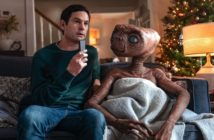 pub xfinity avec E.T. l'extraterrestre et Elliott adulte