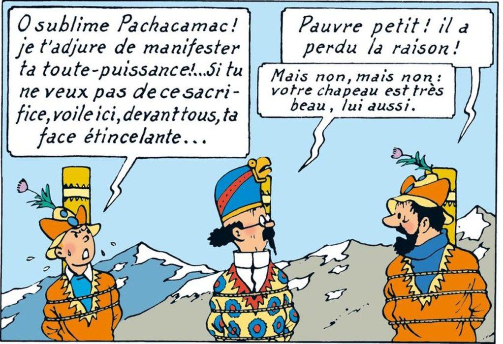 Vignette de Tintin et le temple du soleil