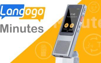 Traducteur vocal instantané Langogo Minutes : test, avis et code promo