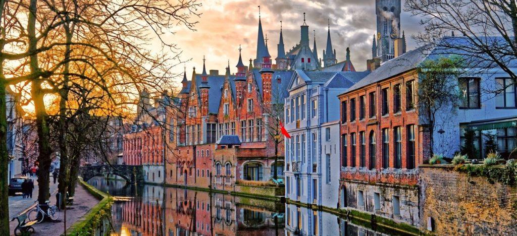 Bruges, ville de la romance