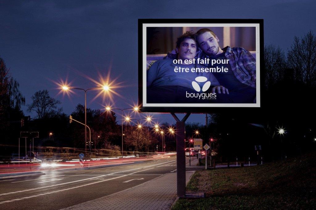 Affichage Pub Bouygues Telecom 2020 : On est fait pour être ensemble - 03