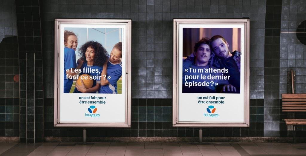 Affichage Pub Bouygues Telecom 2020 : On est fait pour être ensemble - 04