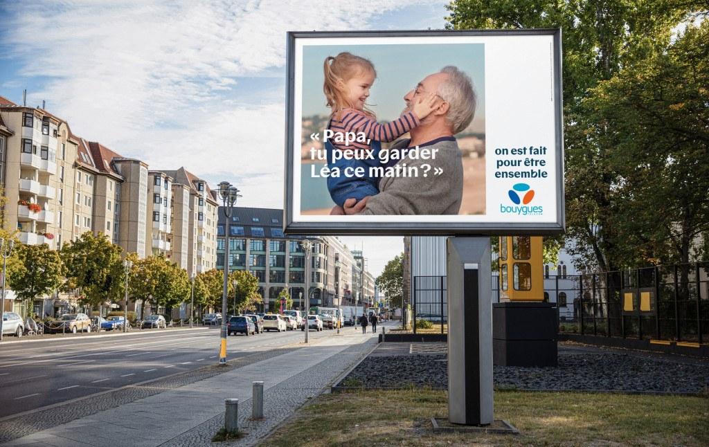 Affichage Pub Bouygues Telecom 2020 : On est fait pour être ensemble - 05