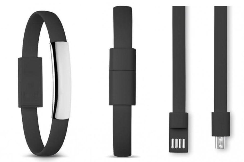 bracelet câble usb