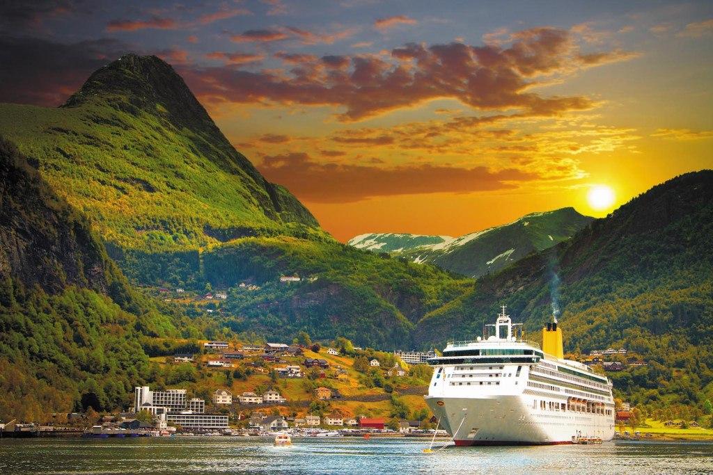 Croisière du Costa Favolosa dans les fjord de Norvège