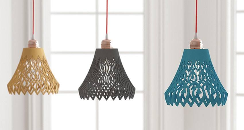 Di-lamp, des lampes imprimées en 3D personnalisables