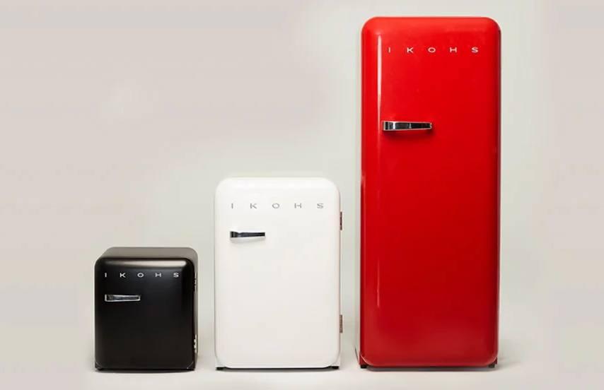 frigo rétro et durable ikhos