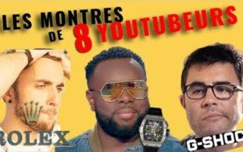 Quelles sont les montres de luxe les plus chères des Youtubeurs français ?