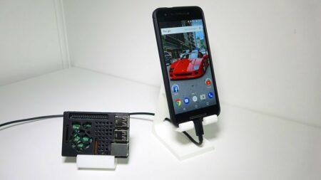 support smartphone impression 3D