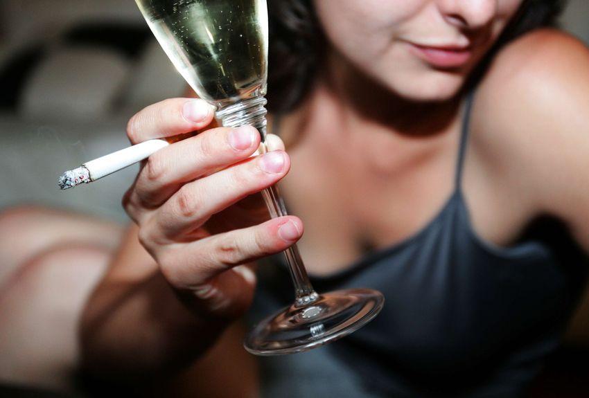 Se résoudre à un jeûne d'alcool et de tabac