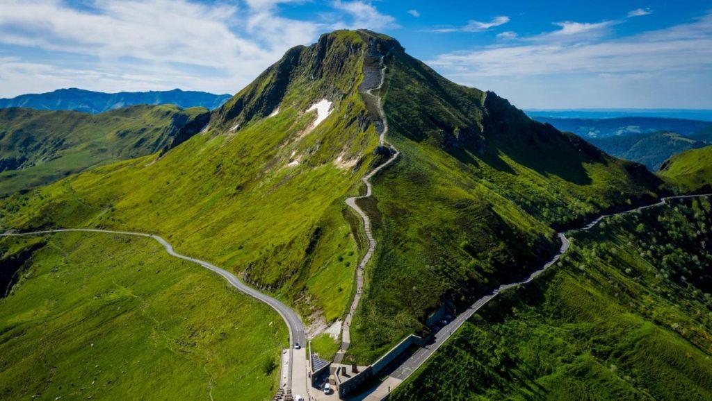 route des volcans en Auvergne