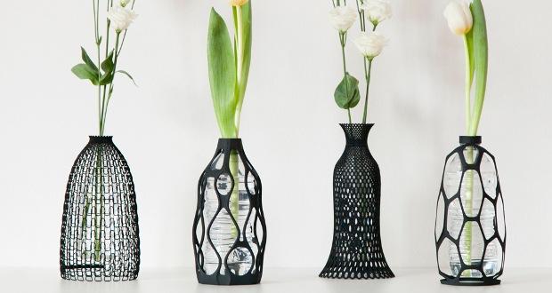 Les vases imprimés en 3D de Libera Rutilo