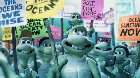 Le voyage des tortues : un périple semé d'embûches (film d'animation stop motion Greenpeace)