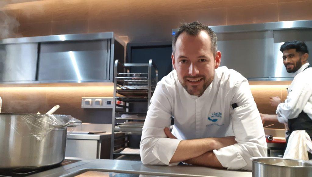 David Gallienne, chef étoilé Top chef